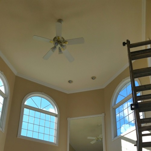 Just Add Paint, open foyer house painting ideas