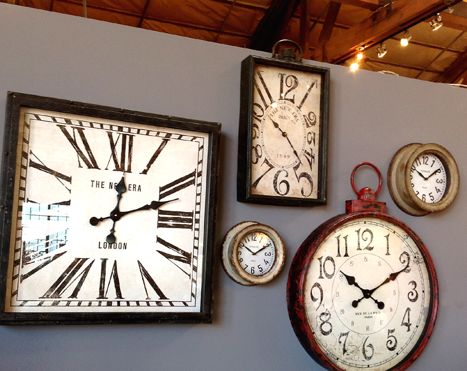 Wall Of Clocks Decor : How long should i wait before hanging pictures just add