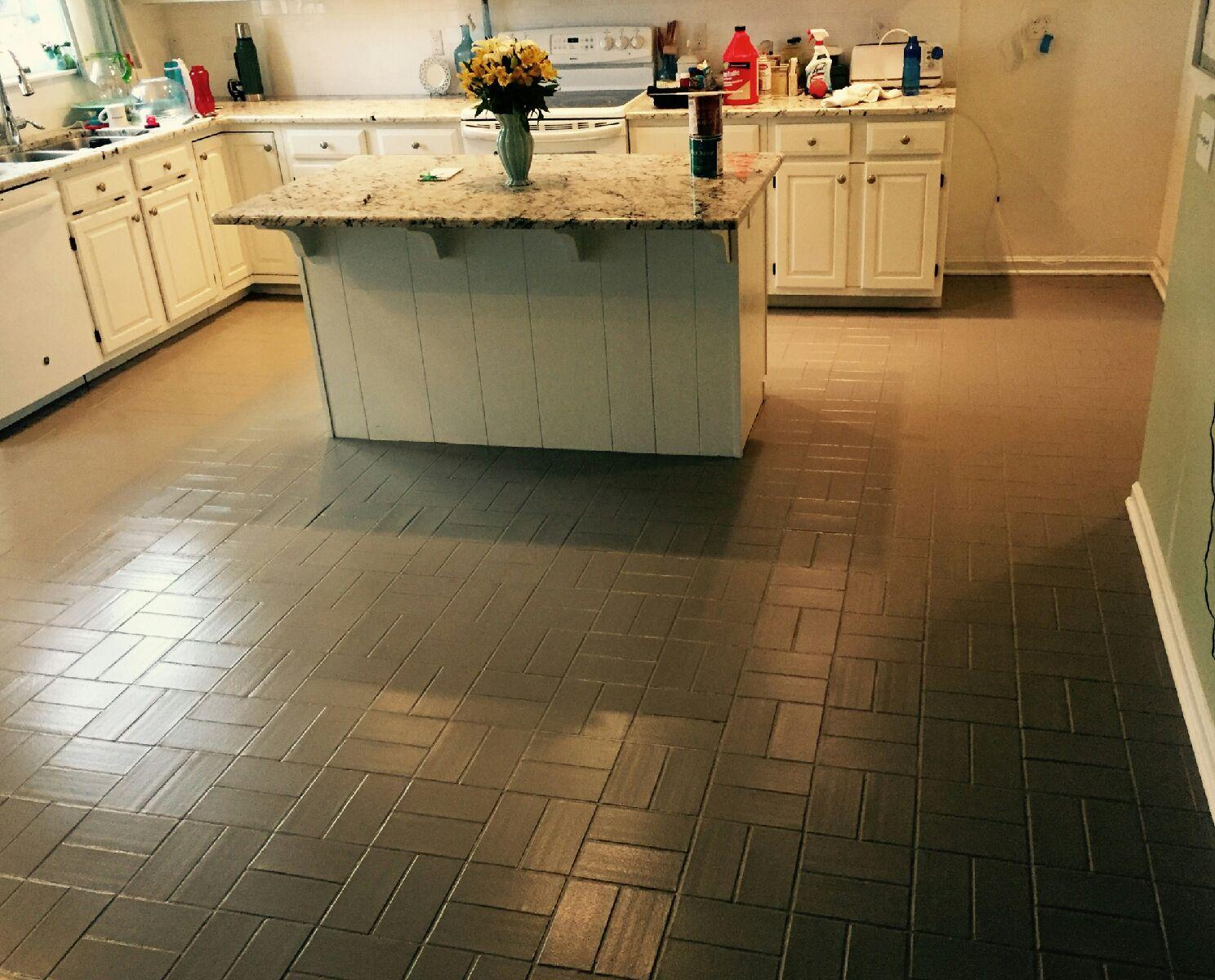 Pet safe and clean at a cost that is lean painting floors for Add floor
